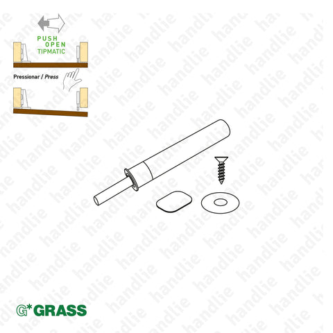 "ACE.GRA.F069 - Grey ""TIOMOS"" TIPMATIC KIT 