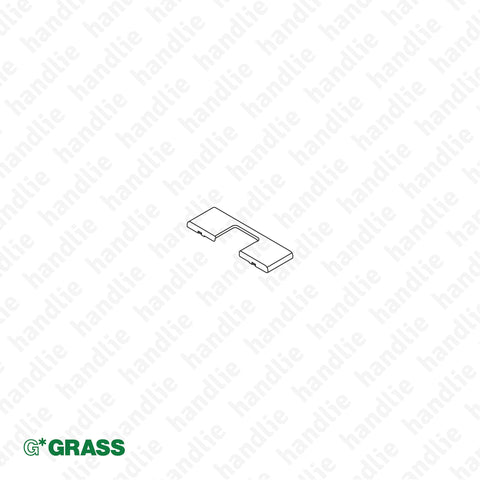 "ACE.GRA.F072.135.503 - Cover cap for ""TIOMOS"" hinge cup - Nickel 