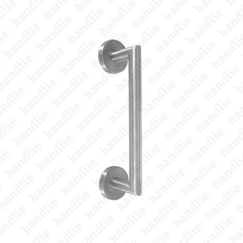A.IN.8302 - Single pull handle for doors - Stainless Steel