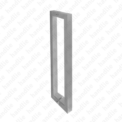 A.IN.8303P - Pull handle pair for doors - Stainless Steel