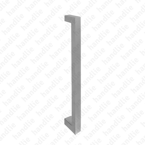 A.IN.8303 - Single pull handle for doors - Stainless Steel