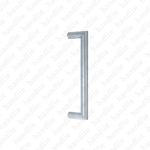 A.IN.8304 - Single pull handle for doors  - STAINLESS STEEL