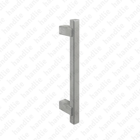 A.IN.8308 - Single pull handle for doors - Stainless Steel