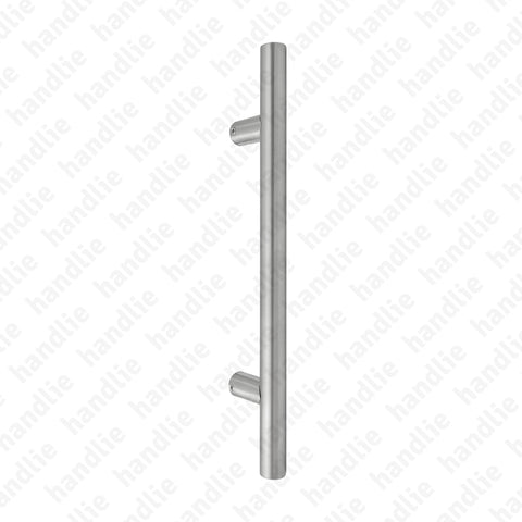 A.IN.8386P - Back to back pull handles for doors - Stainless Steel