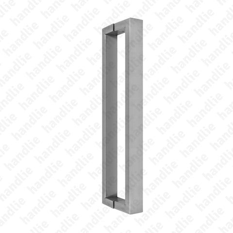 A.IN.8400P - Back to back pull handle for doors - Stainless Steel