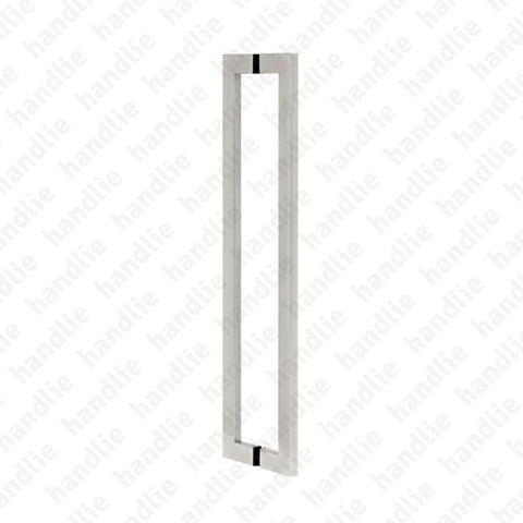 A.IN.8408P - Back to back pull handles for doors - STAINLESS STEEL