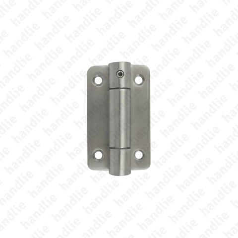 ASM.805.C - Hinge with spring for cubicles - Stainless Steel