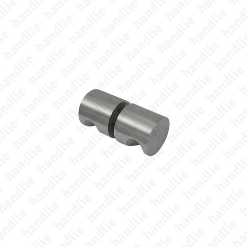 ASM.830 - Double fixed knob for glass doors - Stainless Steel