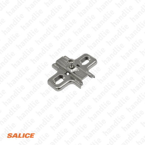 B2V3H0915 - Salice Normal Mounting Plate - H 0mm