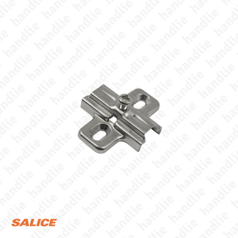 B2V3H3915 - Salice Normal Mounting Plate, Steel - H 3mm