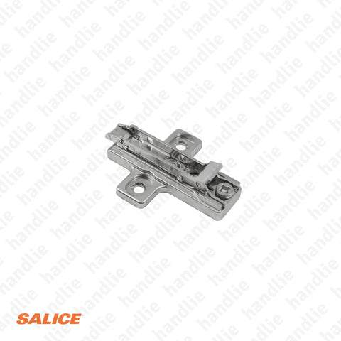 BAR3R39 - Salice Click 3D Mounting Plate, Zinc Alloy - H 3mm