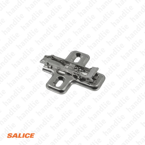 BAV3M09F - Salice Click Mounting Plate, Steel - H 0mm