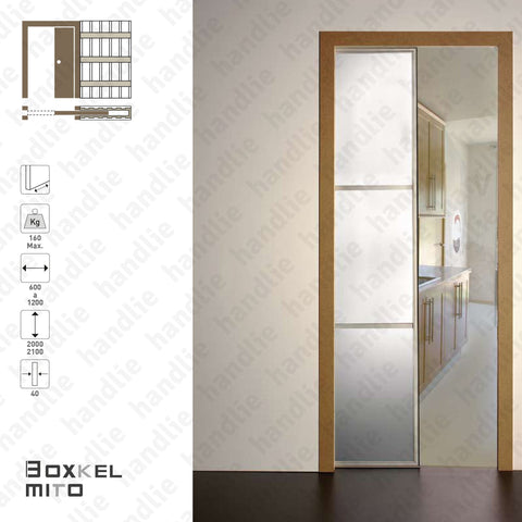 BK.11 - BOXKEL MITO Frame for single sliding doors - Plasterboard
