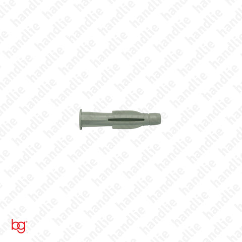 Nylon wall plugs for brick - with lip - BN 102