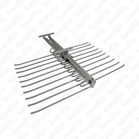CAB.174028 - Extractable double upper rail for trousers
