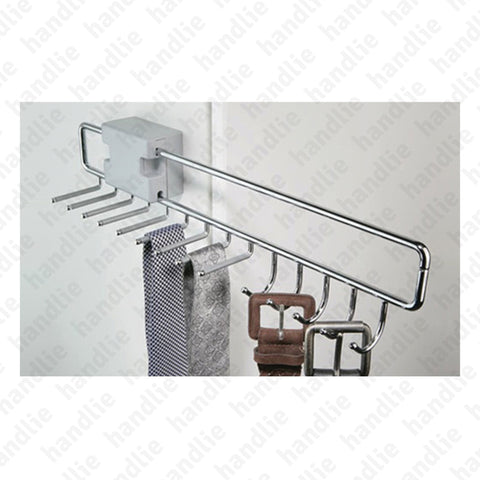 CAB.174152 - Pull-out upper rack for 8 ties and 5 belts