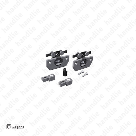 CAR.26.05 - SF.26 - Complete kit of rollers and accessories - Up to 26Kg per door | SAHECO