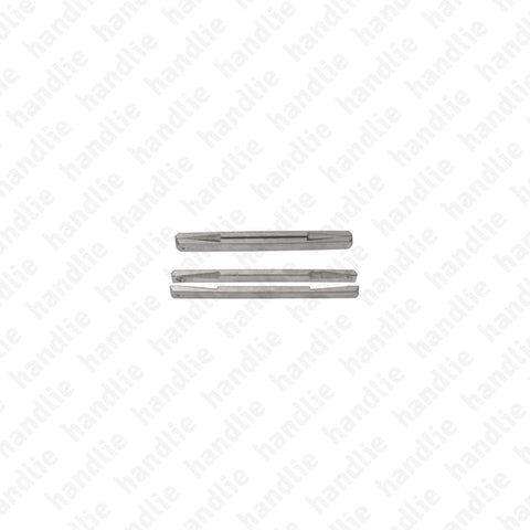 CAVER8 - CAV.ER - Elastic slotted square spindle Q.8 - STEEL