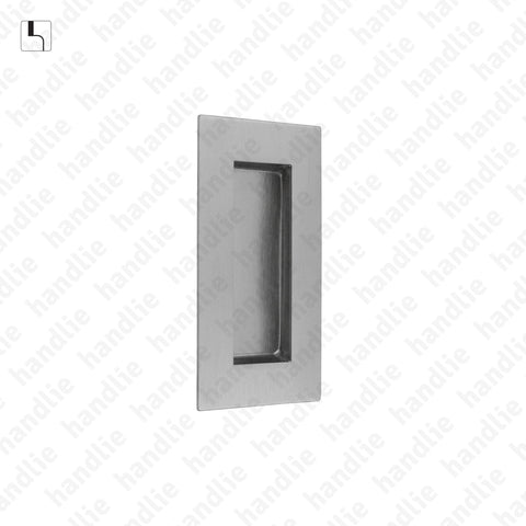 CE.IN.8241 - Flush handle - 101x51 - Stainless Steel