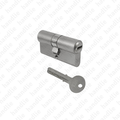 CIL.2210 - Security euro cylinder - Key / Key - Budget Series