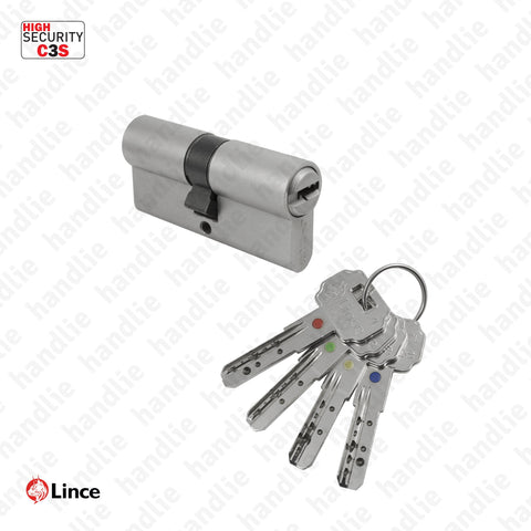 CIL.C3S - Security euro cylinder with selective access C3S - Key / Key