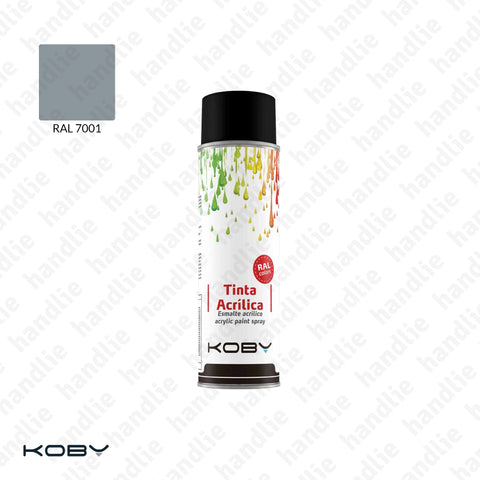 ACRYLIC PAINT SPRAYS - Grey RAL 7001