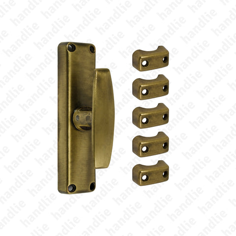 CRM.162 - Surface espagnolette bolt - ZINC ALLOY