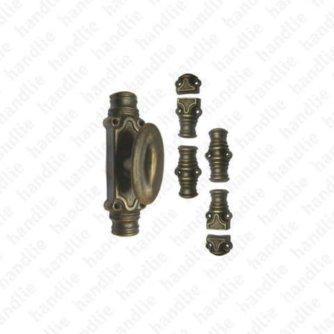 CRM.202 - Surface espagnolette bolt - BRASS