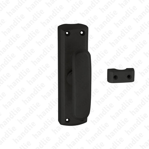 CRM.896.L16 - Surface espagnolette bolt - Matt Black