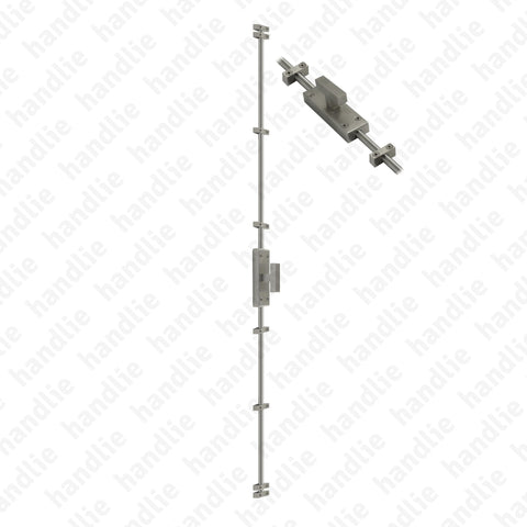 CRM.IN.604.2500 - Surface espagnolette bolt - Stainless Steel