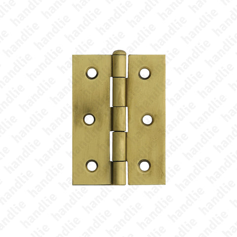 D.1838 - Hinge for furniture - Brass / Stainless Steel