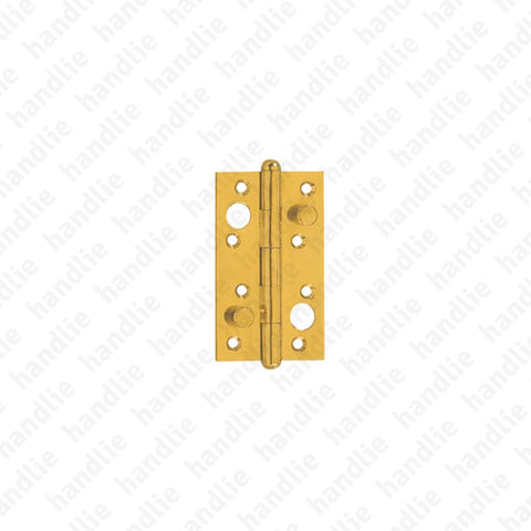 DS.407 - Security butt hinge - Brass