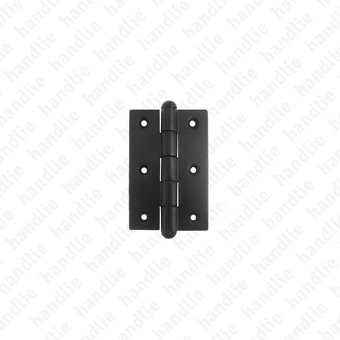 D.413 - Butt hinge with removable pin - Matt Black