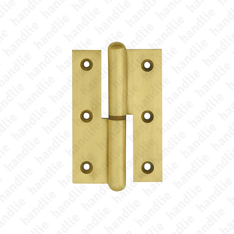 D.6905 - Lift Off Hinge - Brass
