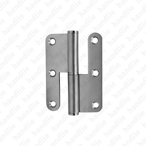 D.8313AR - Hinge with round leaves - Stainless Steel