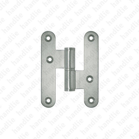D.8323.AR - Hinge with round leaves - Stainless Steel