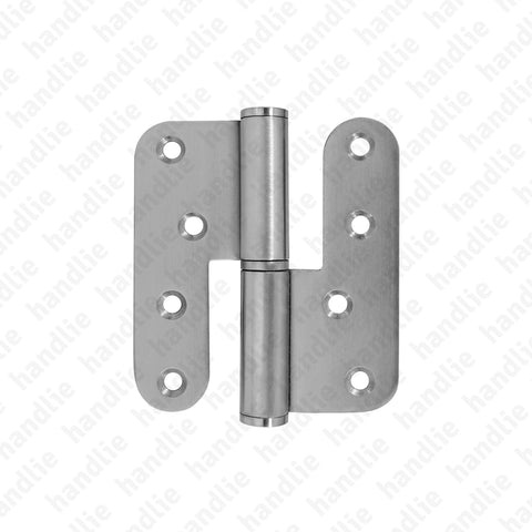 D.8516.AR - Hinge with round leaves - Stainless Steel