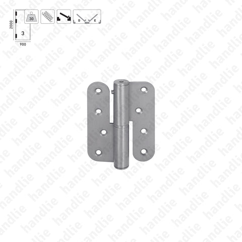 DM.1847 - Single action spring hinges - 304 STAINLESS STEEL