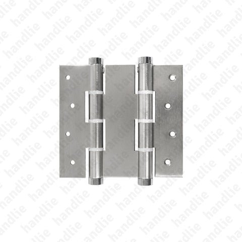 DM.5414.A - Double action spring hinges 120mm - ALUMINIUM