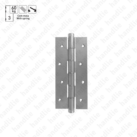 DM.5814 - Single action spring hinge - Aluminium