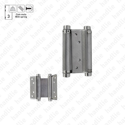 DM.652 Double action - Double action spring hinge - Stainless Steel