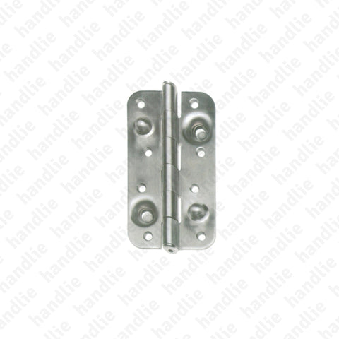 DS.571 - Security butt hinge - Stainless Steel