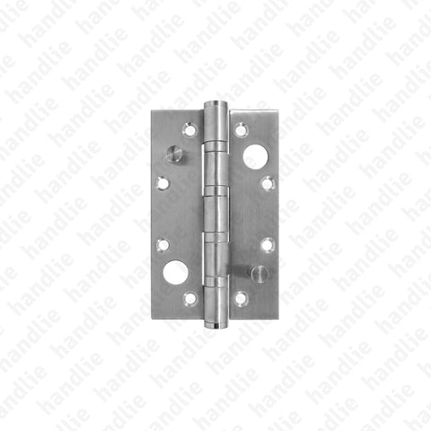 DS.8022 - Security butt hinge - Stainless Steel and Brass
