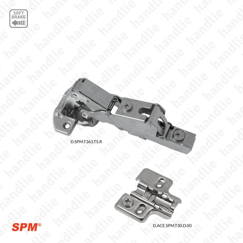 D.SPM.T363.TS.R - Cup hinges for furniture