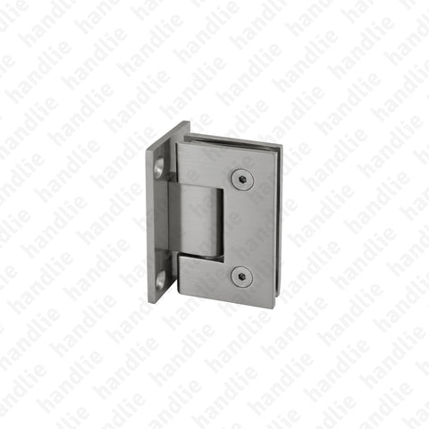 DV.40.01.075 - Wall / glass hinge - Brass