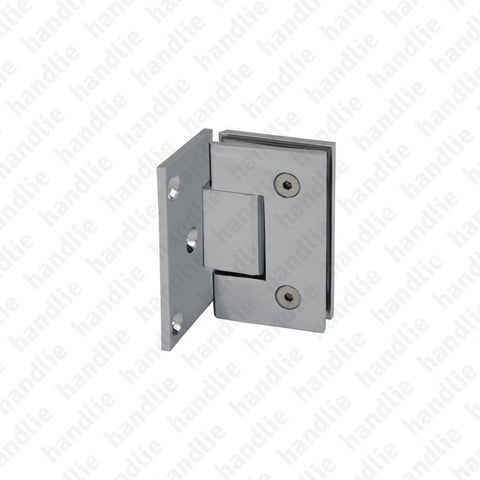DV.40.02.075 - Wall / glass hinge - Brass