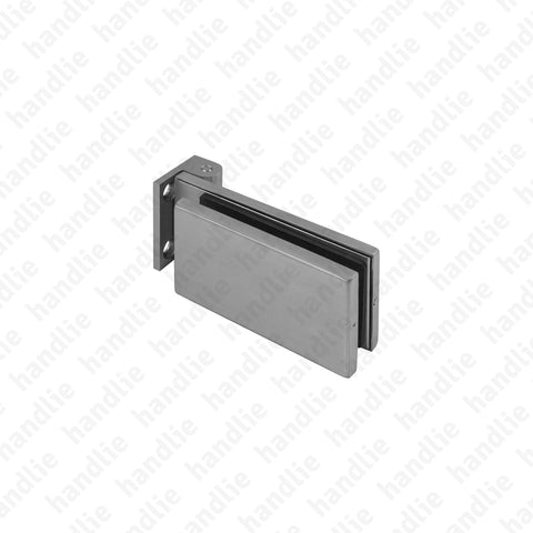DV.51.01.051 - Wall / glass hinge - Stainless Steel