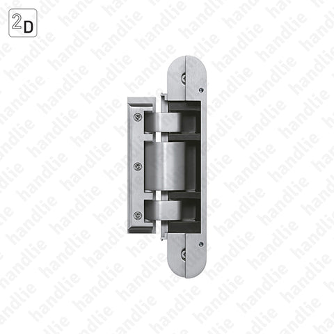 DV.TEG.310.2D - Glass hinge TECTUS GLASS 2D - Load capacity 60 or 80Kgs (2 Hinges)  | SIMONSWERK