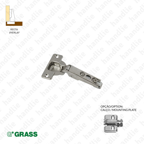 "D.GRA.F015 - ""NEXIS"" hinge, 100º and 110º - 3D Adjustment 