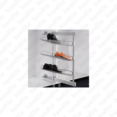 EA.2117 - Side shoe rack 3 tier - SC SQUARE CLOSET